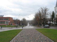 Аллея Освобождения. Atbrivosanas aleja.  by <b>IVAN_BY</b> ( a Panoramio image )