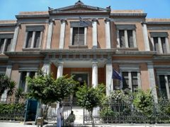 Foundation for greek (hellenic) culture building by <b>cycle way</b> ( a Panoramio image )