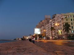 night view - coastal road with buildings by <b>cycle way</b> ( a Panoramio image )