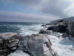 Thasos - Kekes Beach Rocks by <b>vdaniel</b> ( a Panoramio image )