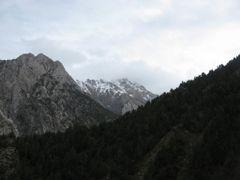 Dugoba, Kalkush, view to Zamok peak (small & big) by <b>igor_alay_2</b> ( a Panoramio image )