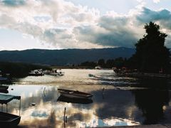 The Drim River, from Ohrid Lake by <b>Zvonkopetroski</b> ( a Panoramio image )