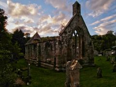 Balantradoch, ruined church of the Knights Templar. by <b>Andrew</b> ( a Panoramio image )