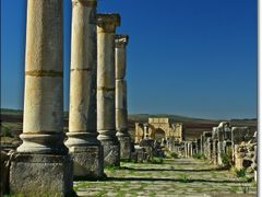 Volubilis -UNESCO World Heritage site by <b>_MM_</b> ( a Panoramio image )