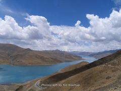 Yangzhuoyong Lake by <b>xiexiaohua</b> ( a Panoramio image )