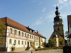 Irmelshausen by <b>Arndt Hochstrate</b> ( a Panoramio image )