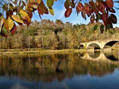 Autumn Colors at Cumberland Falls Bridge 2 (Corbin, KY) Autumn 2 by <b>Kalin Ranchev</b> ( a Panoramio image )