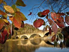 Autumn Colors at Cumberland Falls Bridge (Corbin, KY) Autumn 201 by <b>Kalin Ranchev</b> ( a Panoramio image )