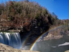 Double Rainbow at Cumberland Falls (Corbin, KY) Autumn 2010 by <b>Kalin Ranchev</b> ( a Panoramio image )
