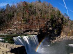 Rainbow at Cumberland Falls (Corbin, KY) Autumn 2010 by <b>Kalin Ranchev</b> ( a Panoramio image )