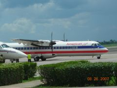 American Eagle flight from Miami  by <b>Frank987ss</b> ( a Panoramio image )