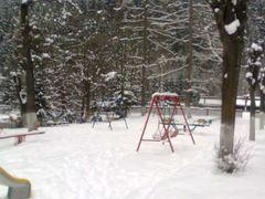 parcul crucea iarna by <b>Nicu Birgu</b> ( a Panoramio image )