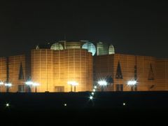 Jatiyo Sangsad Bhaban , National Assembly Building of Banglades by <b>F.Zaman</b> ( a Panoramio image )