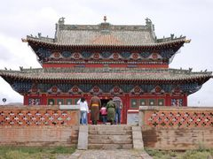Erdene Zuu: templo by <b>Javier Elcuaz</b> ( a Panoramio image )