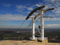 Stone Mountain Summit Sky Ride Tower, Georgia by <b>davidcmc58</b> ( a Panoramio image )