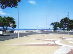 Rosa dos Ventos junto ao palacio do Presidente de S.Tome - Sao T by <b>Mario:Portugal</b> ( a Panoramio image )
