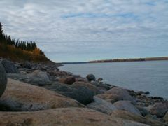 Mackenzie River Near Fort Simpson by <b>Brien Kautz</b> ( a Panoramio image )
