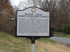 Wilson Creek Primitive Baptist Church by <b>hughmorris</b> ( a Panoramio image )