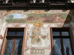 Sinaia - paintings Peles Castle by <b>Fernando Occhibove</b> ( a Panoramio image )