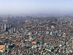 Seoul, View Southwest by <b>JustforFun</b> ( a Panoramio image )
