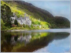 "Kylemore Abbey (IRELAND)..........Irlande, l""Abbaye de Kylemore  by <b>vterezia</b> ( a Panoramio image )"