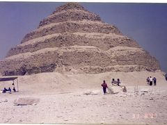 Piramide Escalonada o Saqqara by <b>AnaMariaOss</b> ( a Panoramio image )
