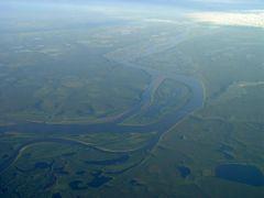 На подлете к Хатанге. Тундра непроходимая by <b>juri.fedyaev</b> ( a Panoramio image )