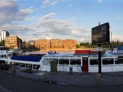 Laukontori, Tampere, taken towards east by <b>Heikki Santasalo</b> ( a Panoramio image )