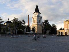 Tampere Keskustori (central square), taken towards NE by <b>Heikki Santasalo</b> ( a Panoramio image )