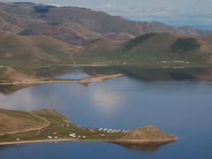 Terkiin Tsagaan y volcn Horgo by <b>Javier Elcuaz</b> ( a Panoramio image )