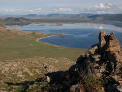 Terkiin Tsagaan: vista hacia el este by <b>Javier Elcuaz</b> ( a Panoramio image )