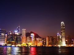 "Hong Kong""s colors of the night [High Resolution] by <b>Luc Valencia</b> ( a Panoramio image )"