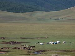 Campamento nmada by <b>Javier Elcuaz</b> ( a Panoramio image )