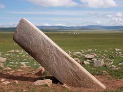 Deer stone by <b>Javier Elcuaz</b> ( a Panoramio image )