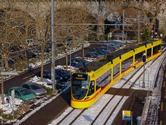 """Strassenbahn-Haltestelle """"Zoo"""" in Basel by <b>loamvalley</b> ( a Panoramio image )"""