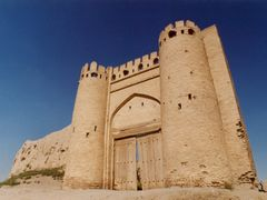 City gate Talipoch in Bukhara by <b>IPAAT</b> ( a Panoramio image )