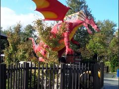 Dragon- LEGOLAND by <b>Grey Eagle Ray</b> ( a Panoramio image )