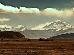 Mount Everest (RamaReddy) by <b>RamaReddy Vogireddy</b> ( a Panoramio image )