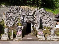 Bali — The Goa Gajah (Elephant Cave) complex at Bedulu village ¦ by <b>pilago</b> ( a Panoramio image )
