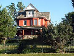 Brick, Stone and Cedar Shakes / Lumsden, Saskatchewan by <b>Lilypon</b> ( a Panoramio image )