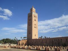 Koutoubia. Mosquee. by <b>Bach Quatre</b> ( a Panoramio image )
