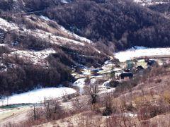 Winter in Korana village near the Korana river (please enlarge) by <b>Marin Stanisic</b> ( a Panoramio image )