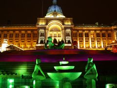 Birmingham Council House at Night by <b>Manoo G</b> ( a Panoramio image )