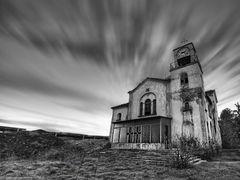 Old church the abandoned vilage Charavgi. by <b>Nikos Koutoulas</b> ( a Panoramio image )