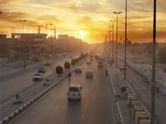 City Sunset by <b>Shahid Al-Fatlawy</b> ( a Panoramio image )
