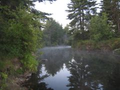 Souhegan River, Merrimack, NH by <b>Kimberly Komers</b> ( a Panoramio image )