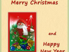 Warmest Christmas Wishes and Happy New Year to all my dear Frien by <b>Ria Maat</b> ( a Panoramio image )