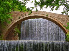 ...Bridge and waterfall... by <b>Yiannis A. Nikolos</b> ( a Panoramio image )