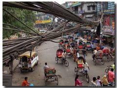 """""""Fibre ottiche"""" - Dhaka - Bangladesh by <b>Oliviero Masseroli</b> ( a Panoramio image )"""