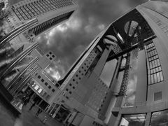 Under the Sky Building, Nakatsu by <b>the other Martin Tenbones</b> ( a Panoramio image )